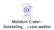 Molokini web link