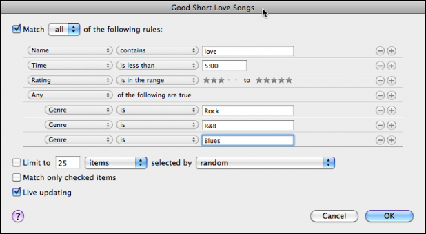 Good short love songs three genres